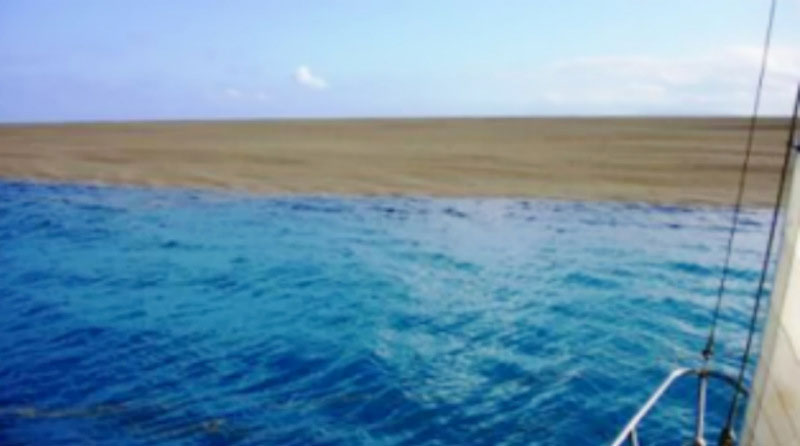Boaters Find Sandbar in the Middle of the Ocean. Turns Out to Be the Live Birth of anIsland