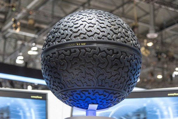 goodyear spherical 360-eagle concept tire