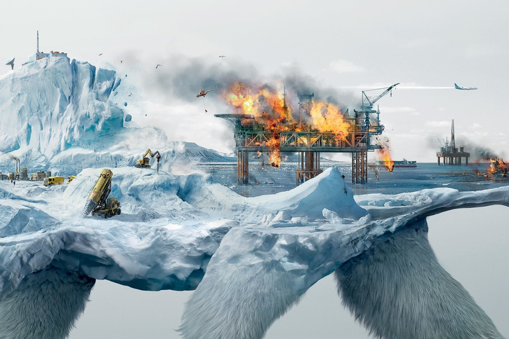 Illustrations Show How Destroying Nature Destroys Life (2)