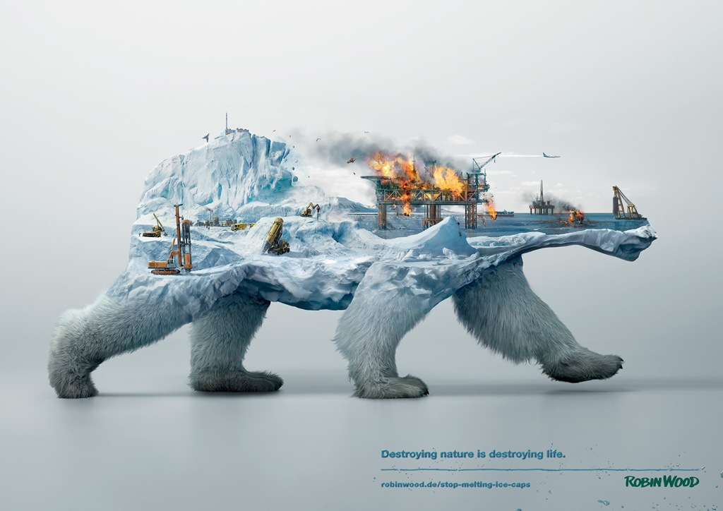 Illustrations Show How Destroying Nature Destroys Life (4)