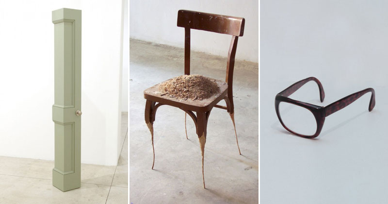 Sculptures of Everyday Objects Stripped of Their Functionality