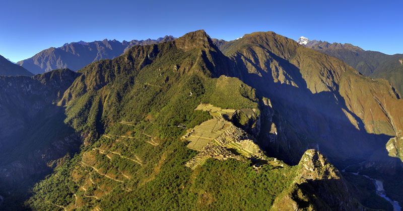 Picture of the Day: Zoomed Out Machu Picchu