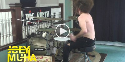 Just a Metal Drummer Absolutely Slaying I'm A LittleTeapot