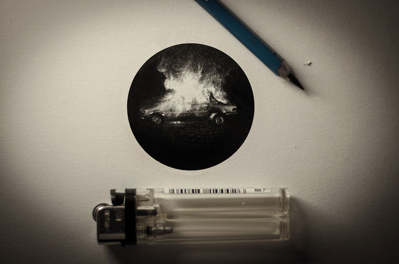 Miniature Pencil Drawings by Mateo Pizarro (1)