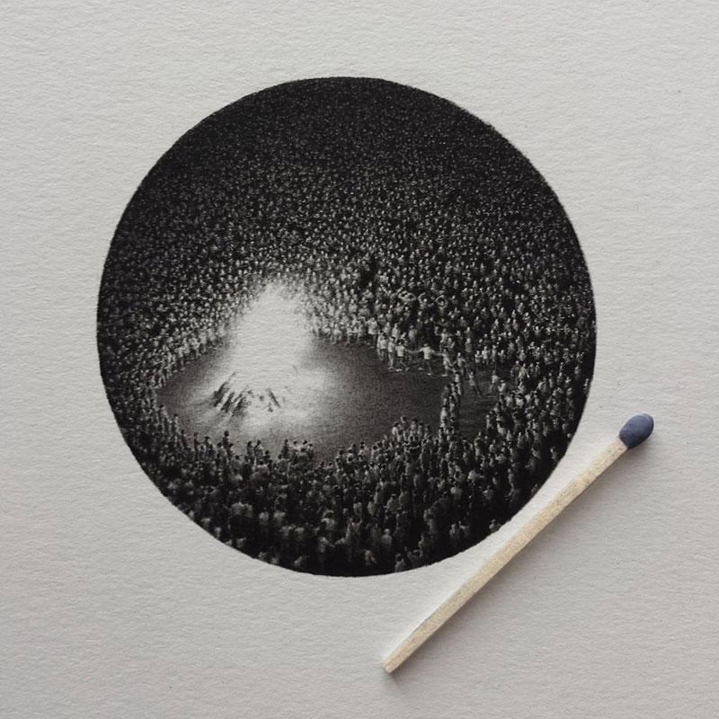 Miniature Pencil Drawings by Mateo Pizarro (3)