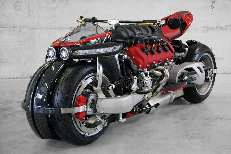 This Guy Used a Maserati Engine to Build a 470 HP Motorcycle