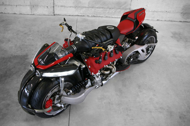 motorcycle powered by maserati engine Lazareth LM 847 (7)