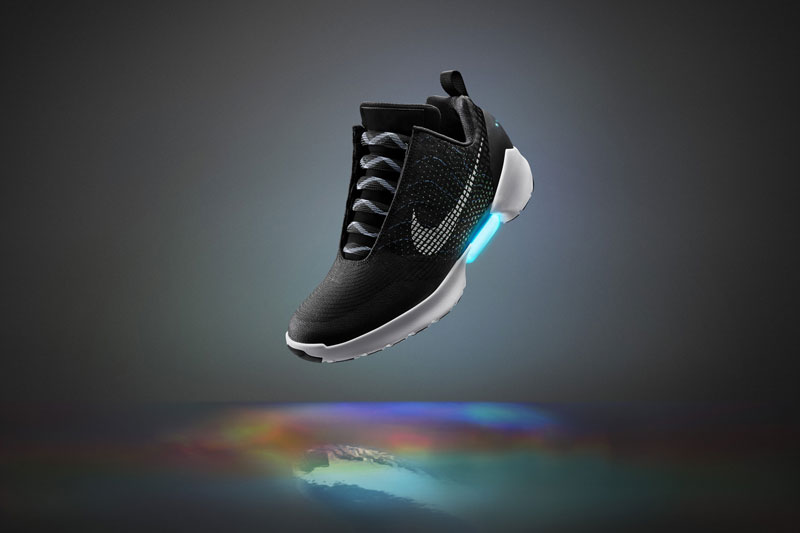 Nike Unveils Power Lacing Shoes That Automatically Tighten