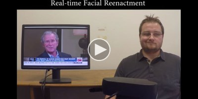 Real-Time Video Manipulation Technology is Both Impressive and Terrifying