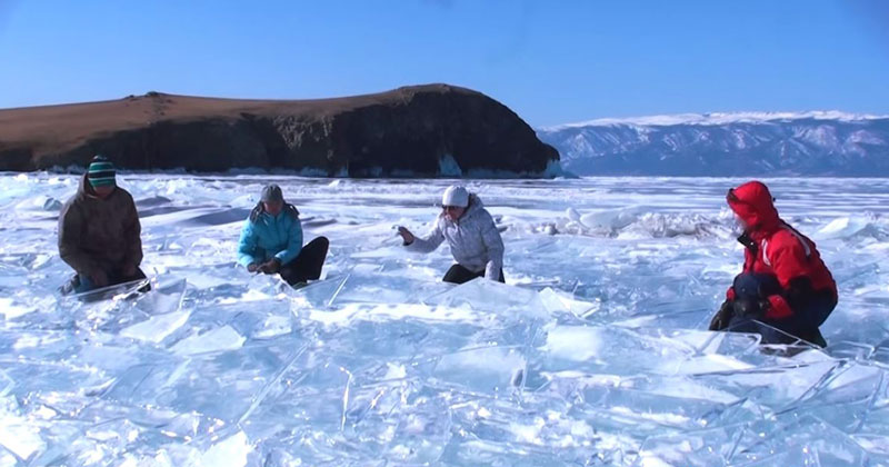 Musicians Turn a Frozen Lake in Siberia Into a Giant Instrument