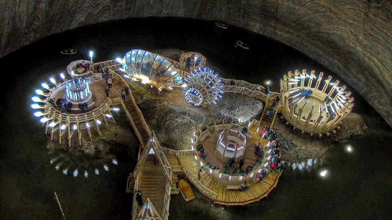 17th Century Romanian Salt Mine Gets Converted Into Wild
