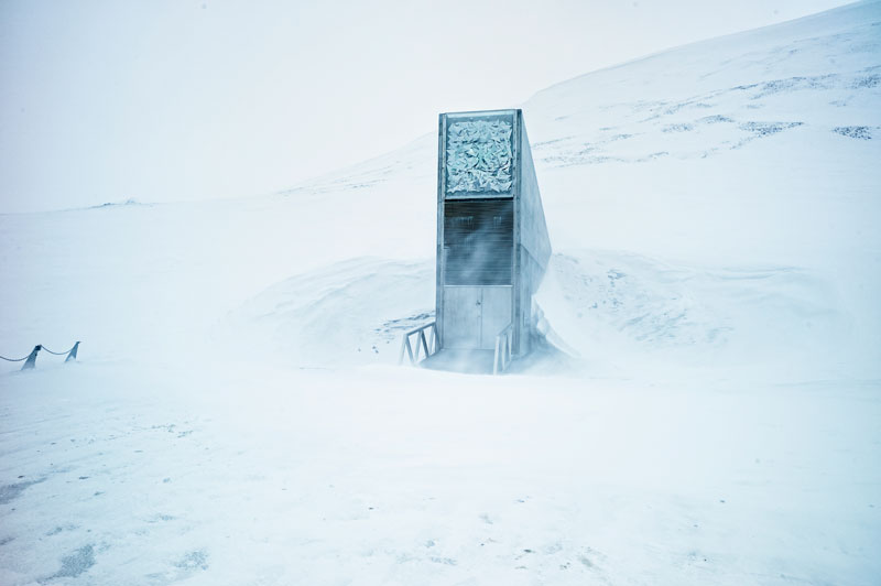 Svalbard Doomsday Global Seed Vault (1)