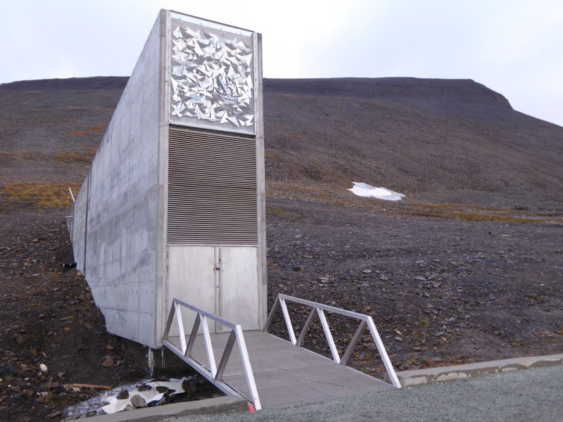 Svalbard Doomsday Global Seed Vault (14)