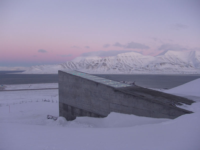 Svalbard Doomsday Global Seed Vault (17)