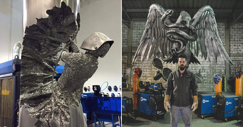 David Madero Does Welding Art and It's Incredible (15 photos)