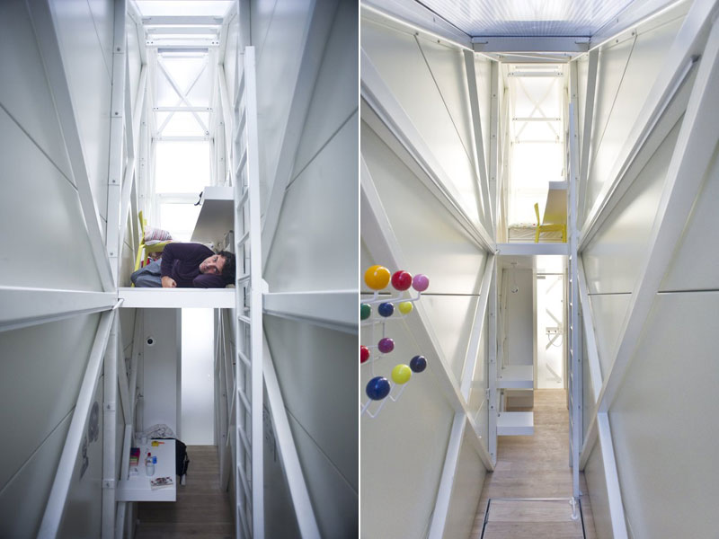 worlds skinniest house keret house in warsaw poland (2)