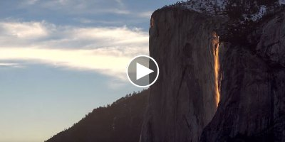 """Exploring Yosemite's Fabled """"Firefall"""""""