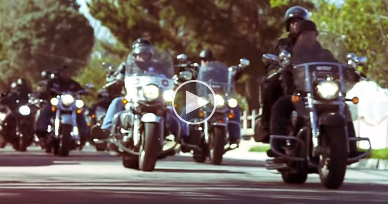 These Bikers are Dedicated to Changing the Lives of Abused Children