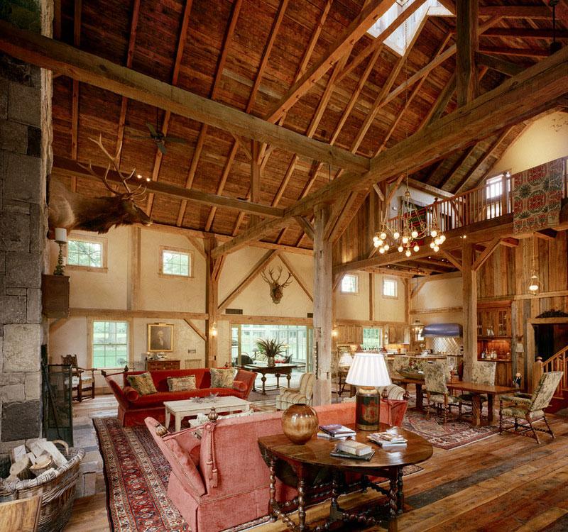 Douglas VanderHorn Architects barn conversion houzz (3)
