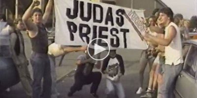 In 1986 Two Guys Filmed the Parking Lot Scene Outside a Judas Priest Concert and It'sAmazing