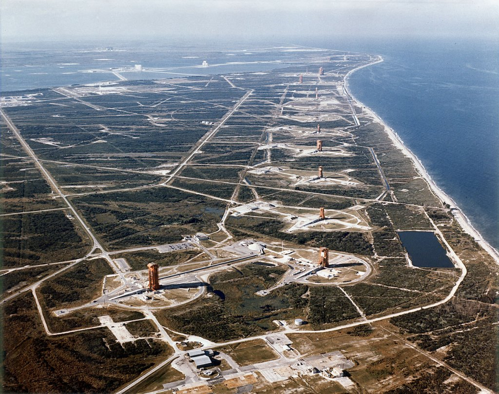 Picture of the Day: NASA's Missile Row at Cape Canaveral, 1964