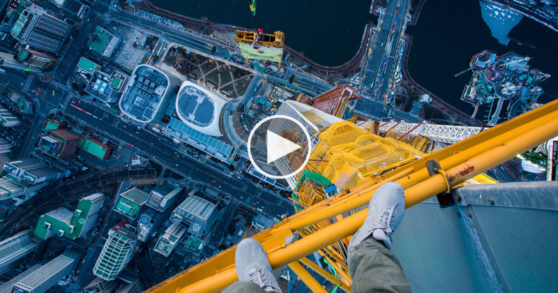 First-Person POV: Climbing the Tallest Skyscraper in Korea
