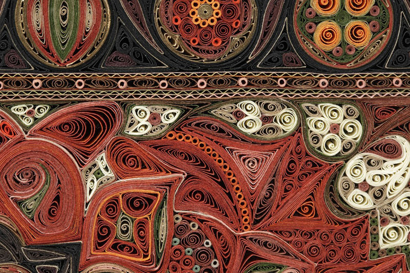 paper filigree quilling oriental rugs by lisa nilsson (7)