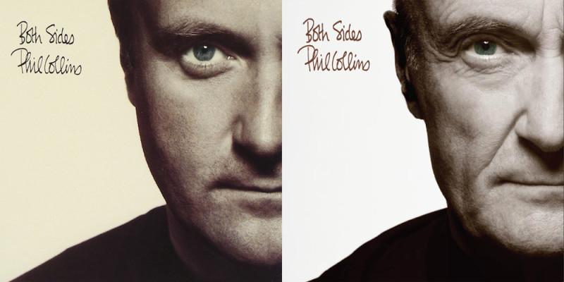 Phil Collins Recreates Original Album Covers For 2016