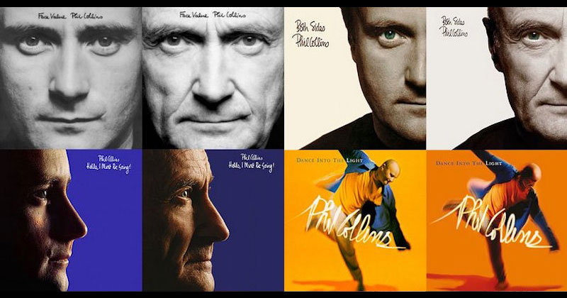 Phil Collins Recreates Original Album Covers for 2016 Reissues