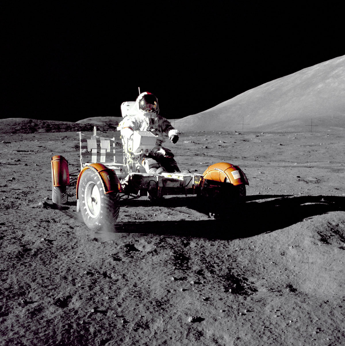 rover on the moon nasa apollo 17 Picture of the Day: Your Car Photo is Inferior