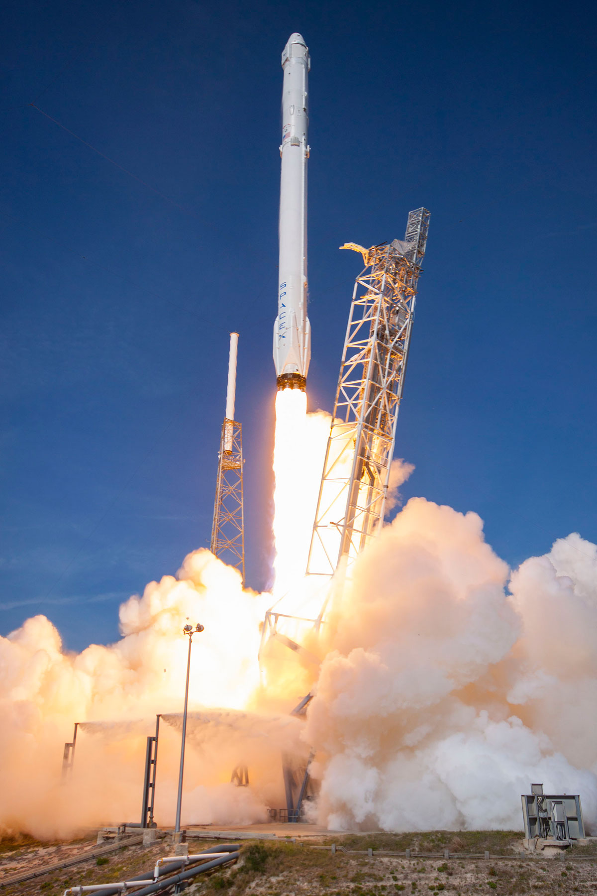 spacex reusable rocket splash down - photo #22
