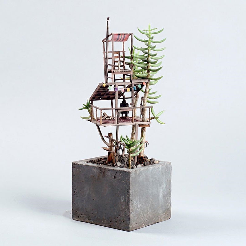 treehouses for house plants by jedediah corwyn voltz (7)