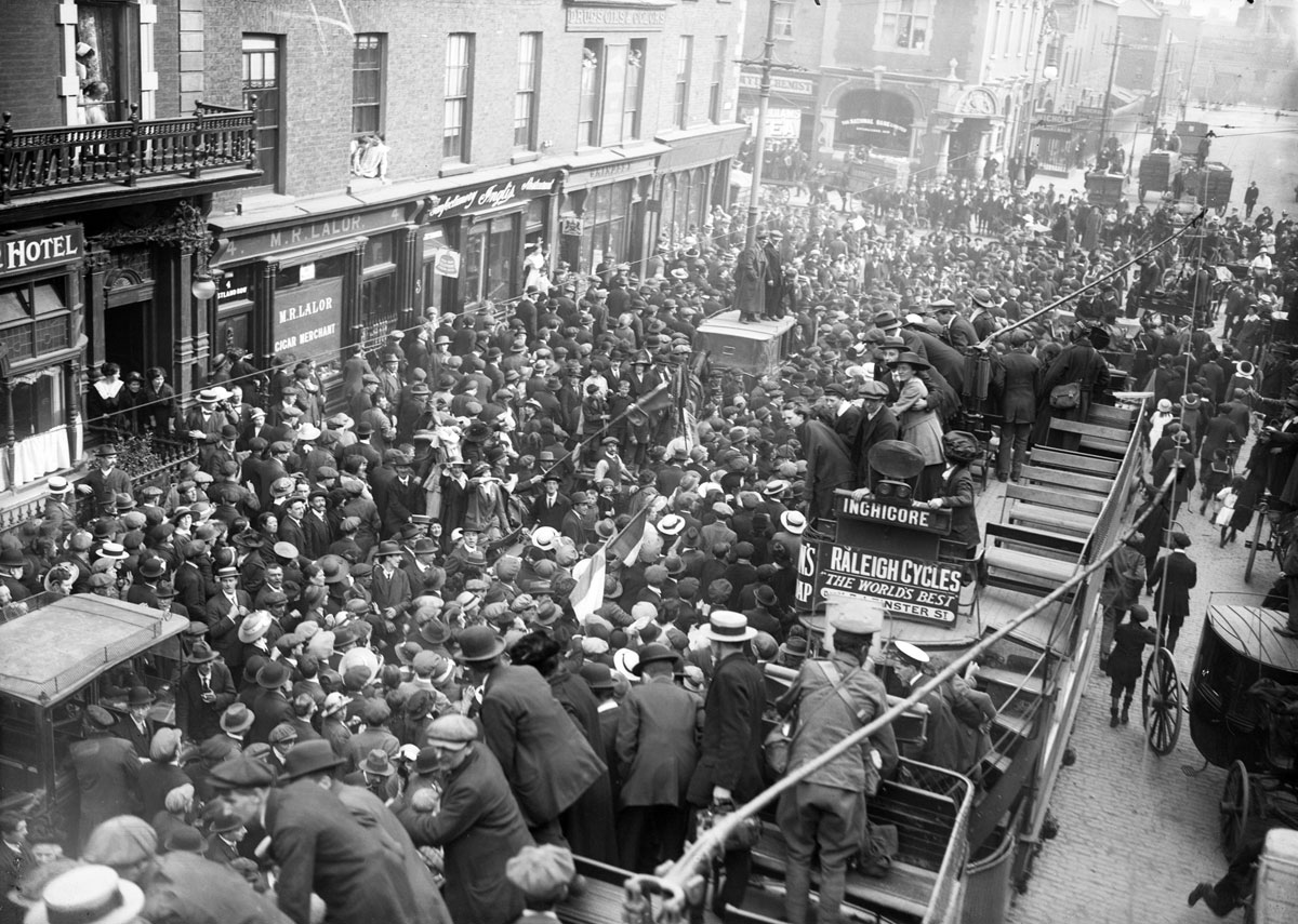 vintage High Res Photos of Dublin from 100 Years Ago (10)