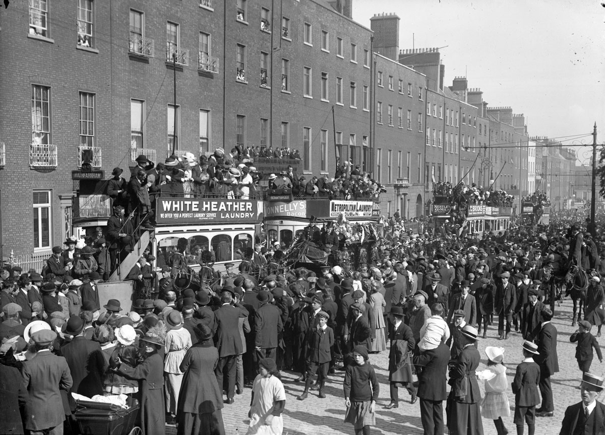 vintage High Res Photos of Dublin from 100 Years Ago (14)