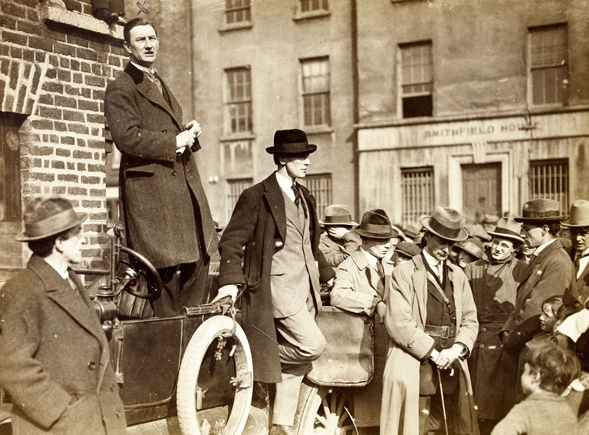 vintage High Res Photos of Dublin from 100 Years Ago (20)