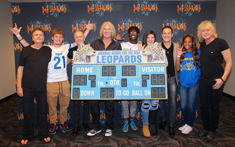 Picture of the Day: When Def Leppard Met the Deaf Leopards