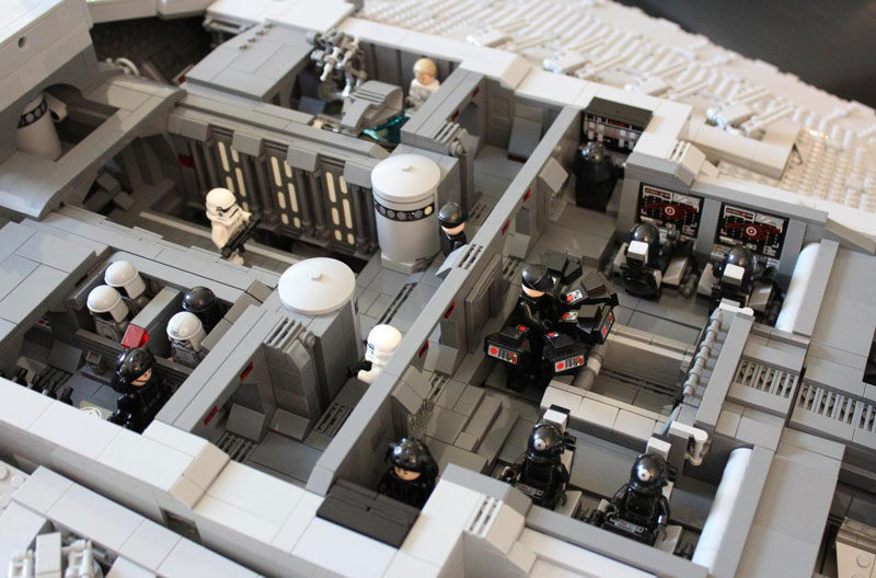 Guy Builds Amazing Lego Star Destroyer With Three-Level Interior (11)