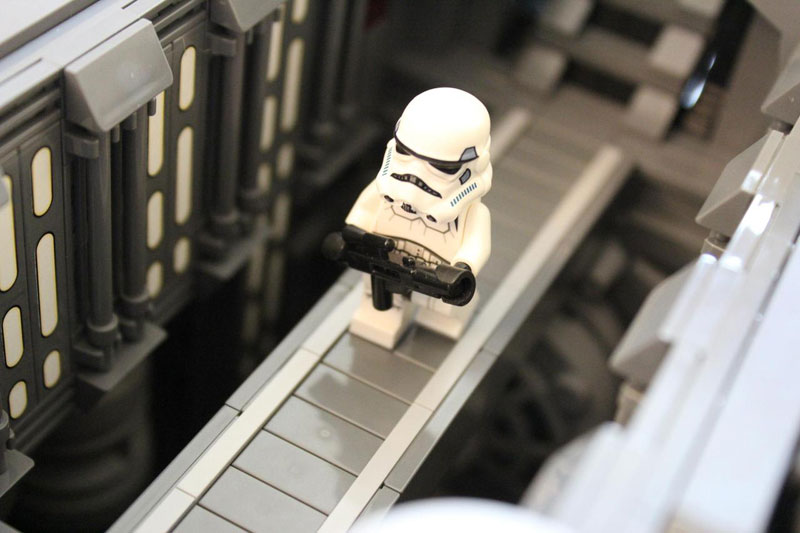 Guy Builds Amazing Lego Star Destroyer With Three-Level ...