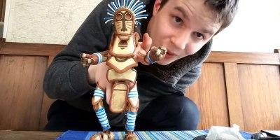 Barnaby Dixon's Custom Hand Puppet Design is SimplyWonderful