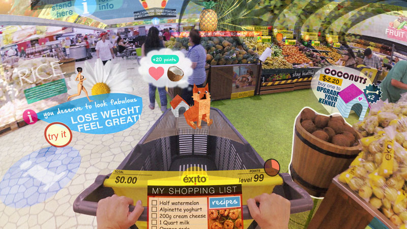 If Augmented Reality Went TooFar
