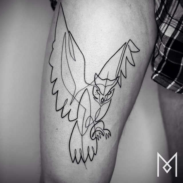 one line tattoos by mo ganji (5)