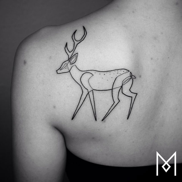 one line tattoos by mo ganji (9)