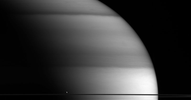 Picture of the Day: Saturn's Little WaterWorld