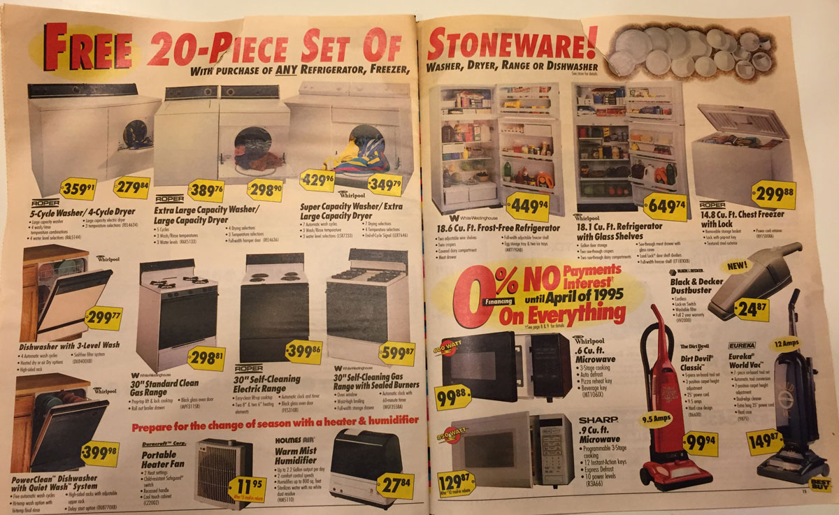 This Best Buy Flyer from 1994 Shows How Fast Technology