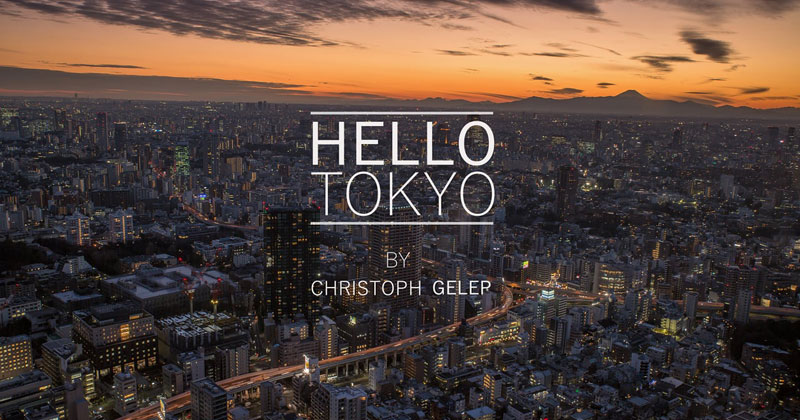 A Mesmerizing Hyperlapse Tour Through the Tokyo Metropolis