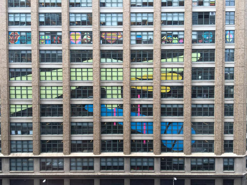 Two Buildings Were Having an All-Out Post-It War Until This Happened