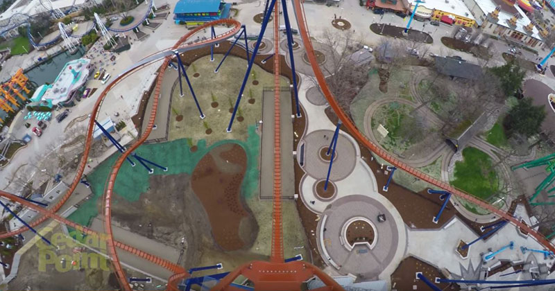 Just a First Person POV of a 90 Degree, 20 Story Drop at 75MPH