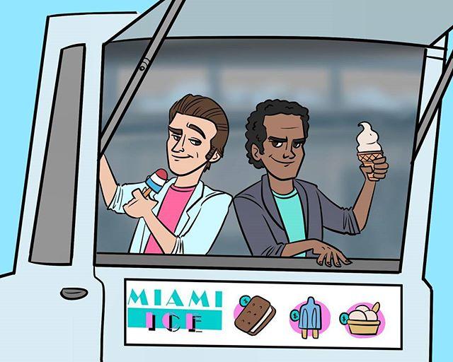25 - Miami Ice