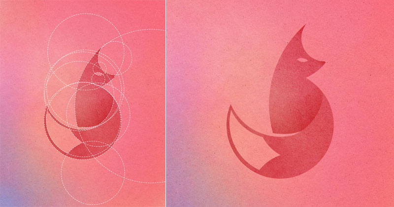 Awesome Animal Illustrations Made From 13 Different Sized Circles