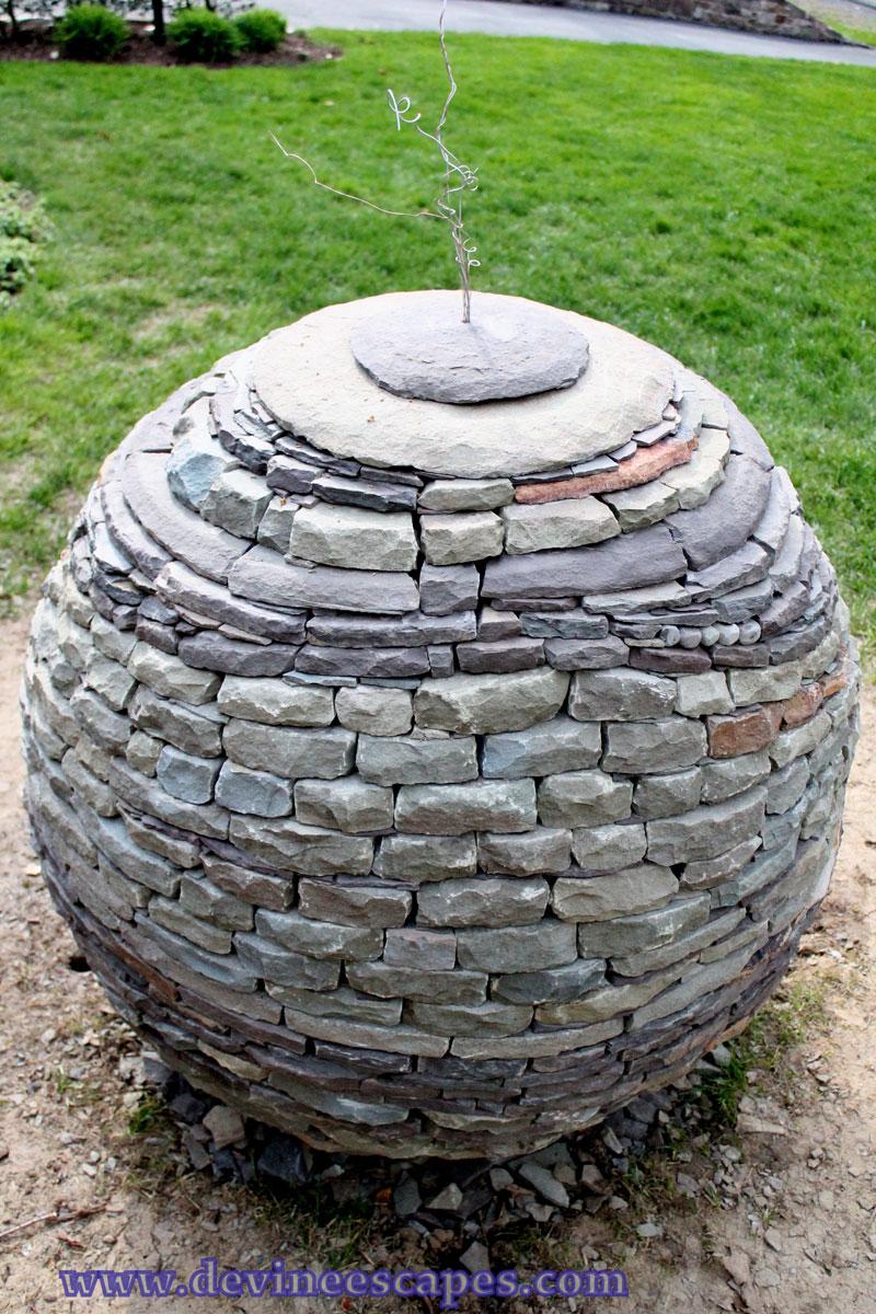 Dry Stone Garden Spheres By Devin Devine (4)